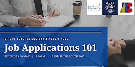 Job Application 101 tickets