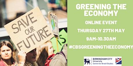 Greening the Economy tickets