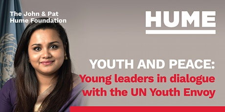 Youth and Peace: Young leaders in dialogue with the UN Youth Envoy tickets