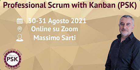 Professional Scrum with Kanban - Scrum.org - Online biglietti