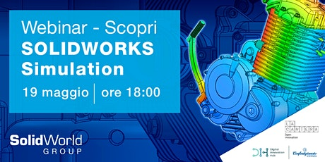 DIH Vicenza e Solid World: Perché SOLIDWORKS Simulation? tickets