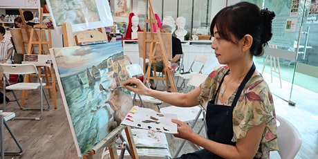 Professional Oil Painting 12 Sessions 专业油画课程12节课 - AZ @ PAYA LEBAR tickets