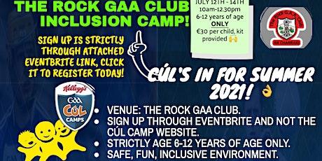 The Rock GAA Inclusion Cul Camp 2021 tickets