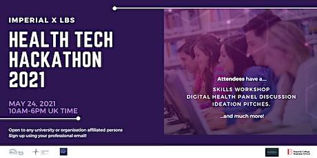 HealthTech Hackathon 2021 tickets