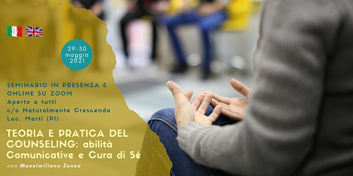 Immagine TEORIA E PRATICA DEL COUNSELING // THEORY AND PRACTICE OF COUNSELING