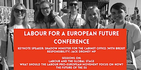 Labour for a European Future Conference 2021 tickets