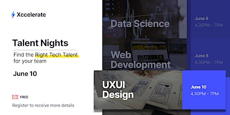 UXUI Talent Night: Finding the Right UXUI Designers for You tickets