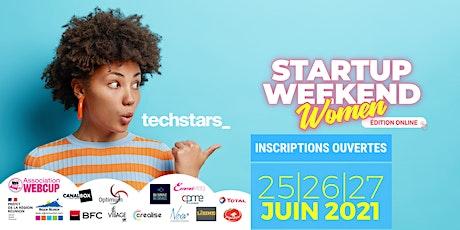Startup Weekend Women (Réunion) - Du 25 au 27 juin 2021 entradas