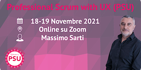 Professional Scrum with User Experience - Scrum.org - Online tickets