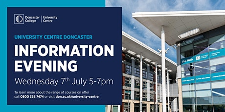 University Centre Doncaster  Information Evening tickets