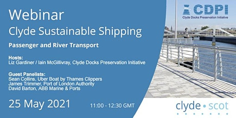 Clyde Sustainable Shipping Webinar 4 biglietti
