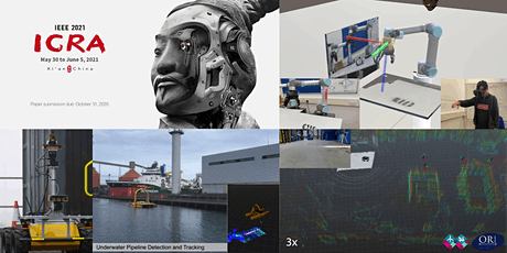 ICRA 2021 Workshop: Digital Twins for IMR Robots in Industrial Applications tickets