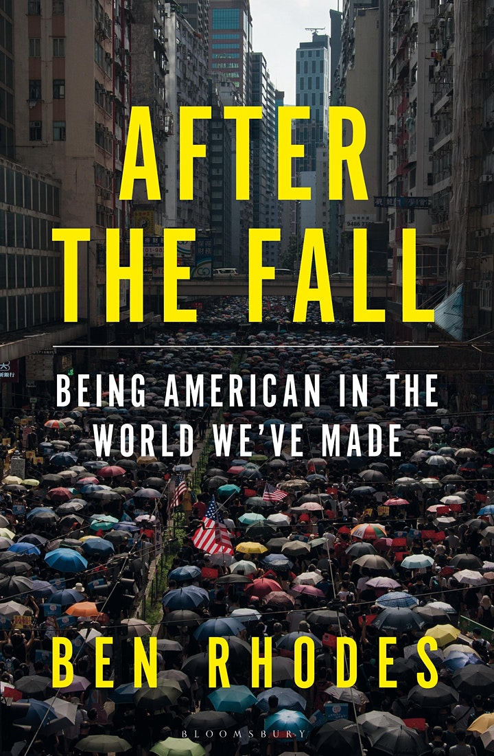 Why Is Democracy Under Threat? | David Miliband & Obama Advisor Ben Rhodes image