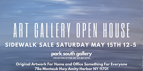 Art Gallery Open House and Sidewalk Sale tickets