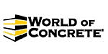 World of Concrete tickets