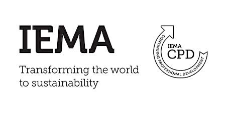 IEMA Futures - PIEMA Upgrade: Member Panel Discussion tickets