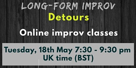 Long form improv - Detours tickets