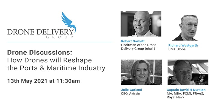 How Drones Will Reshape The Port & Maritime  Industry image