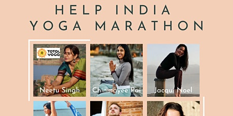 Help India Covid Fundraiser Yoga Marathon tickets