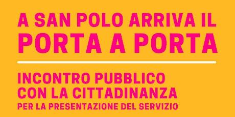 Incontro pubblico sul Porta a Porta tickets