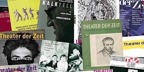 75 Jahre Theater der Zeit – Geburtstagszoom tickets
