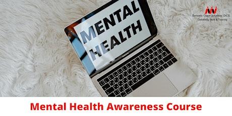 Register Your Interest - LEVEL 1 Mental Health Awareness tickets