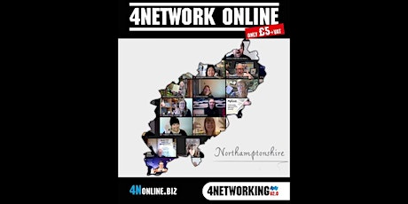 Online networking Northamptonshire tickets