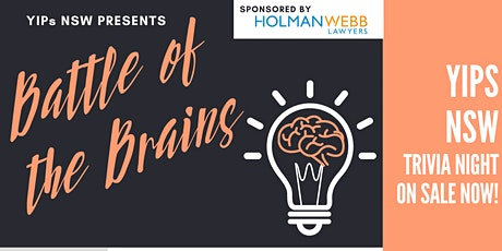 YIPs NSW presents: Battle of the Brains - Trivia & Networking Event tickets
