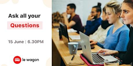 Le Wagon Online Info Session  - Web Development tickets