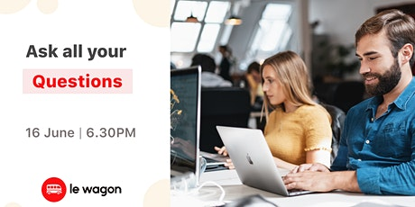 Le Wagon Online Info Session - Data Science tickets