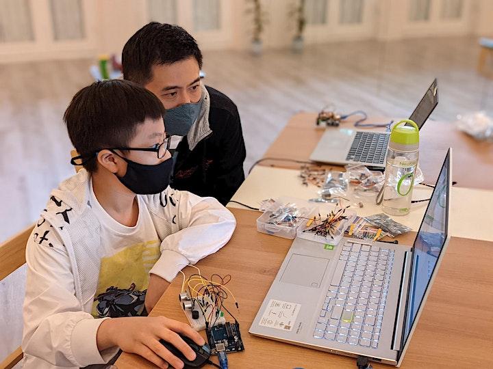 Intro to Arduino & Biorobotics (Online) image