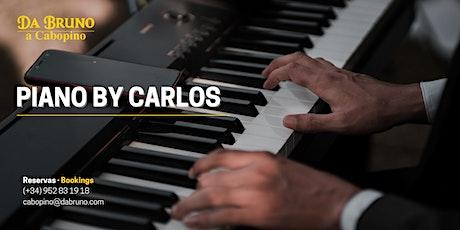 Piano by Carlos | Restaurante Da Bruno Cabopino entradas