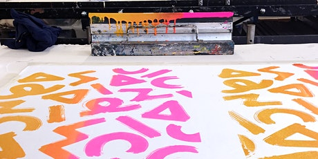 1 Day Fabric Printing Workshop tickets