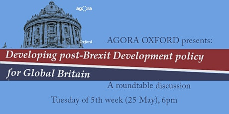 Developing post-Brexit Development Policy with Prof Amelia Hadfield tickets