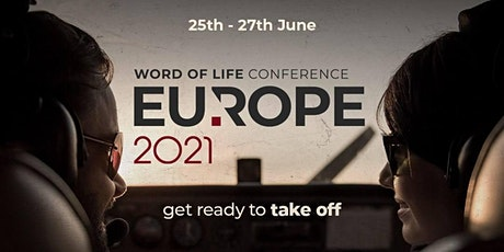 Word of Life Conference Europe 2021 bilhetes
