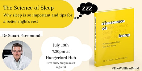 The Science of Sleep with Dr Stuart Farrimond tickets