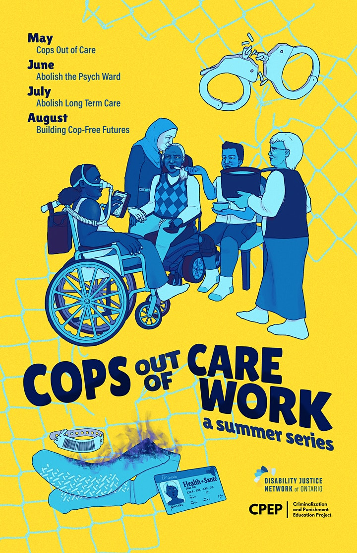 Cops Out of Care Work: A Summer Series image