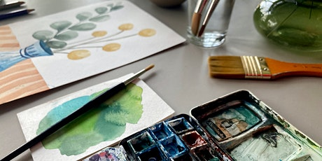 Watercolour Botanicals : Evening Class tickets