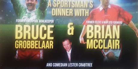 Evening with Bruce Grobbelaar and Brian McClair tickets