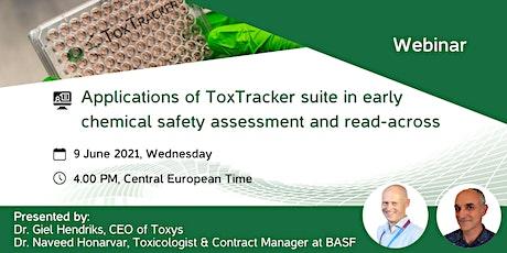 ToxTracker suite webinar tickets