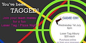 Junior Laser Tag Night