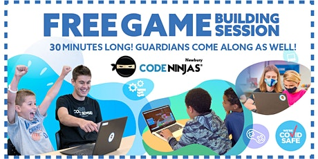 Join us at Code Ninjas Newbury for a FREE game building session! tickets