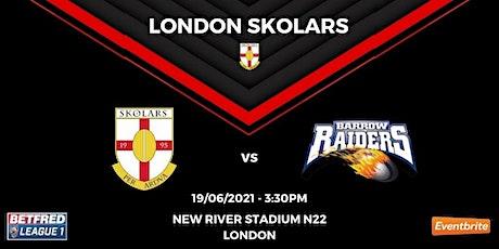 London Skolars vs Barrow Raiders tickets