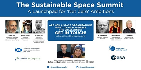 Sustainable Space Summit  - A Launchpad for Net Zero Ambitions tickets