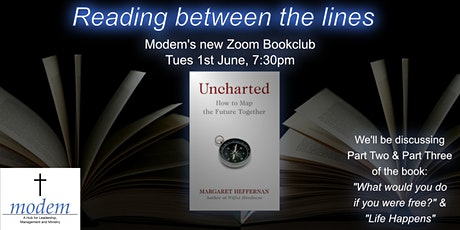 Reading between the Lines Modem Zoom Book Club - Uncharted - Part 2 tickets