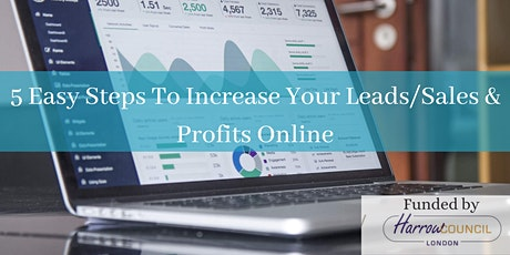 5 easy steps to increase your leads/sales and profits online tickets