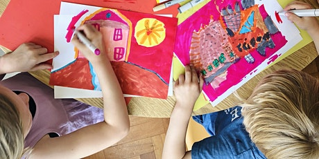 PAINTING FOR KIDS: cupcakes and flowers tickets