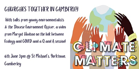 Climate Matters - Churches Together In Camberley billets