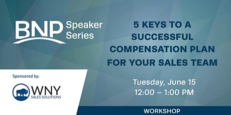 5 Keys to a Successful Compensation Plan for Your Sales Team Workshop tickets