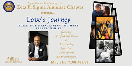 ZPS presents Love's Journey: Building & Maintaining  Intimate Relationships tickets